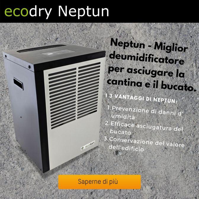 il miglior deumidificatore - ecodry Neptun