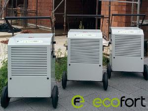 ecofort Tiger - deumidificatori professionali per prosciugamento per l'edilizia